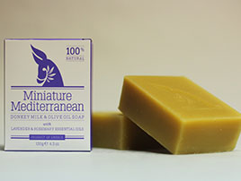 Soaps with lavender, beeswax cream and other natural products