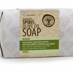 Olive oil soap with herbs